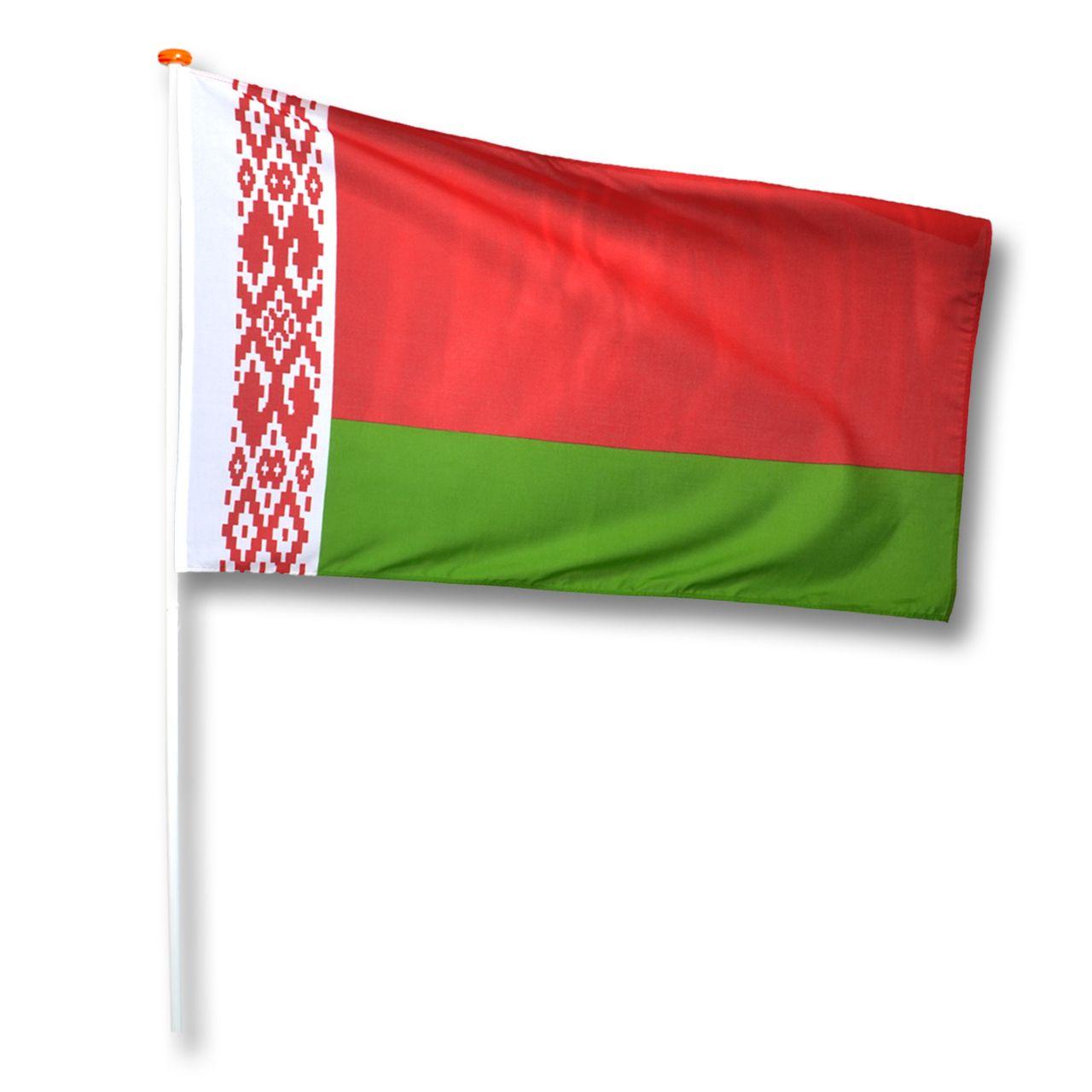 Vlag Wit Rusland (Belarus)