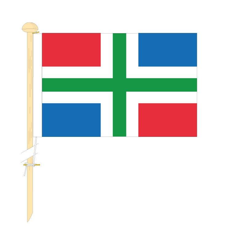 Tafelvlag Groningen afm. 10x15cm