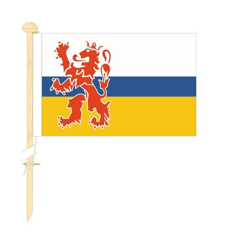 Tafelvlag Limburg afm. 10x15cm