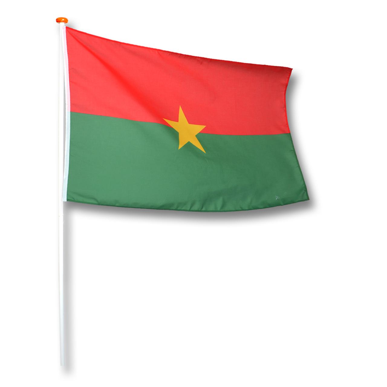 Vlag Burkina Faso