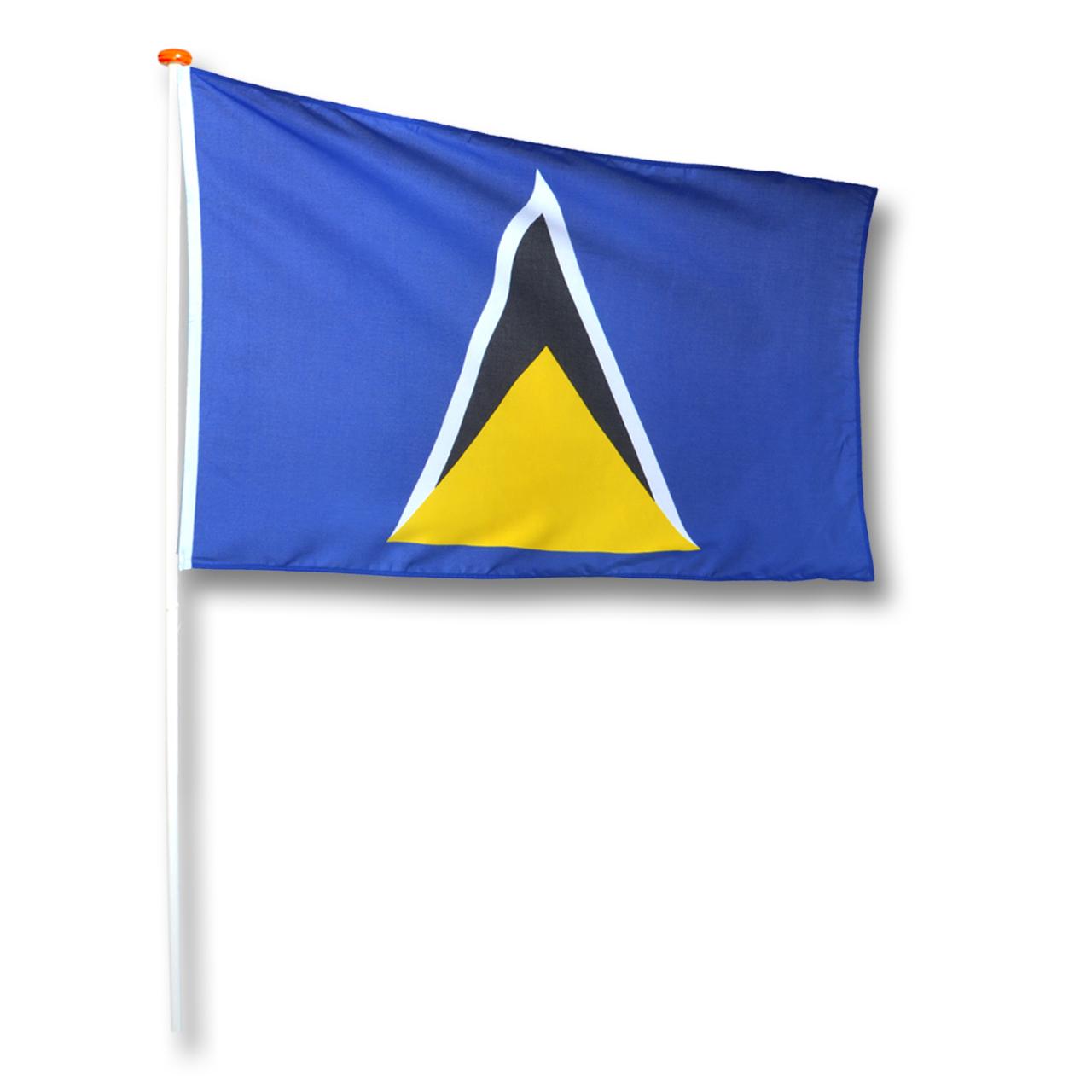 Vlag Sint Lucia