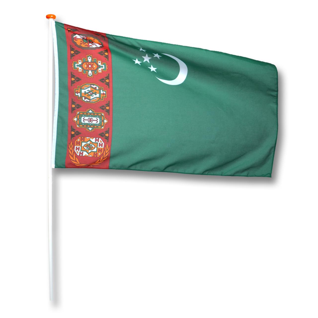 Vlag Turkmenistan