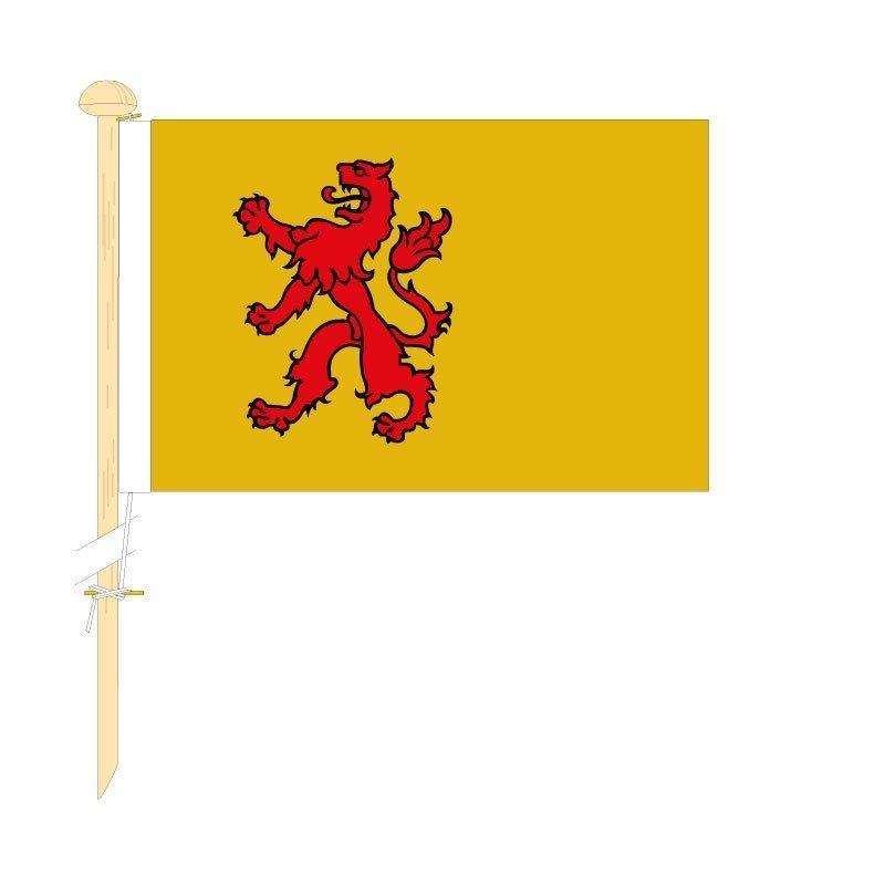 Tafelvlag Zuid-Holland afm. 10x15cm