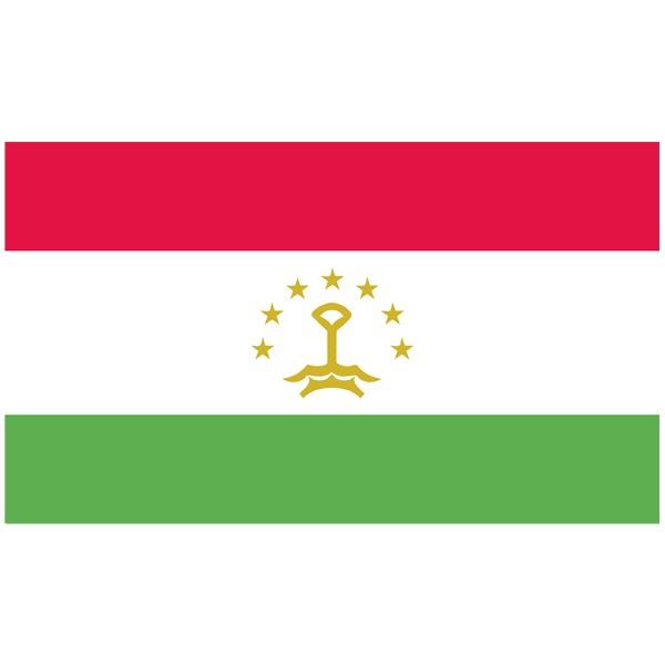 Vlag Tadzjikistan
