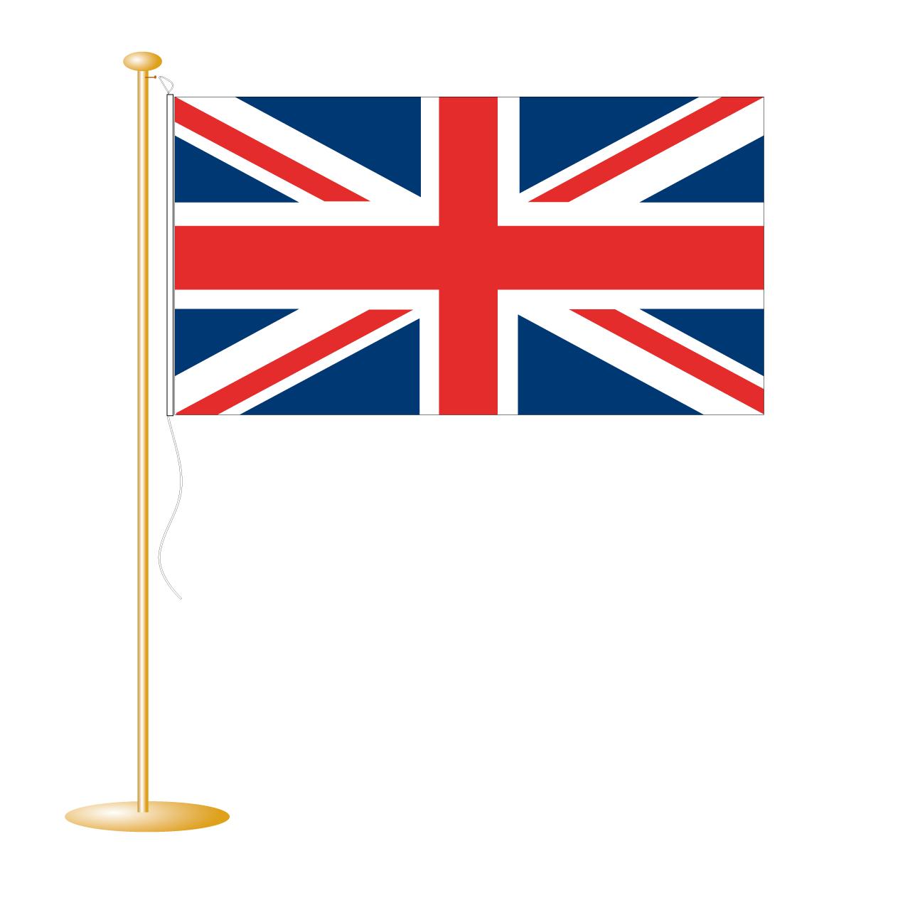 Tafelvlag Groot-Brittannië afm. 10x15cm