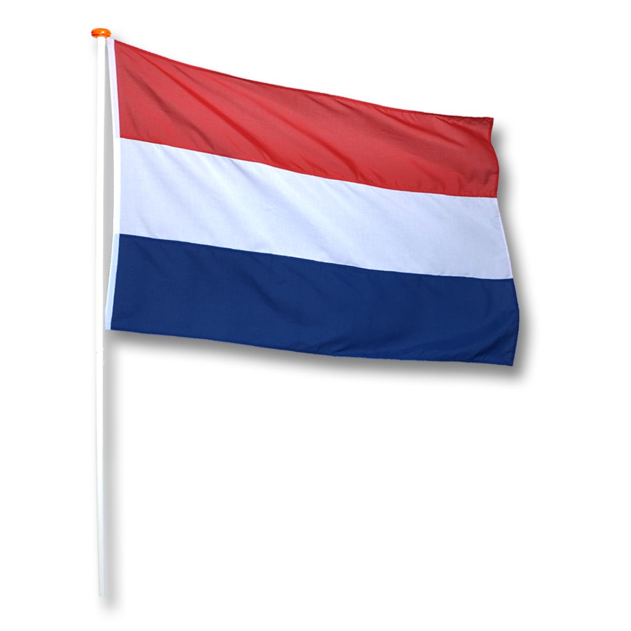 Vlag Nederland (oud Hollandse) Donkerblauw