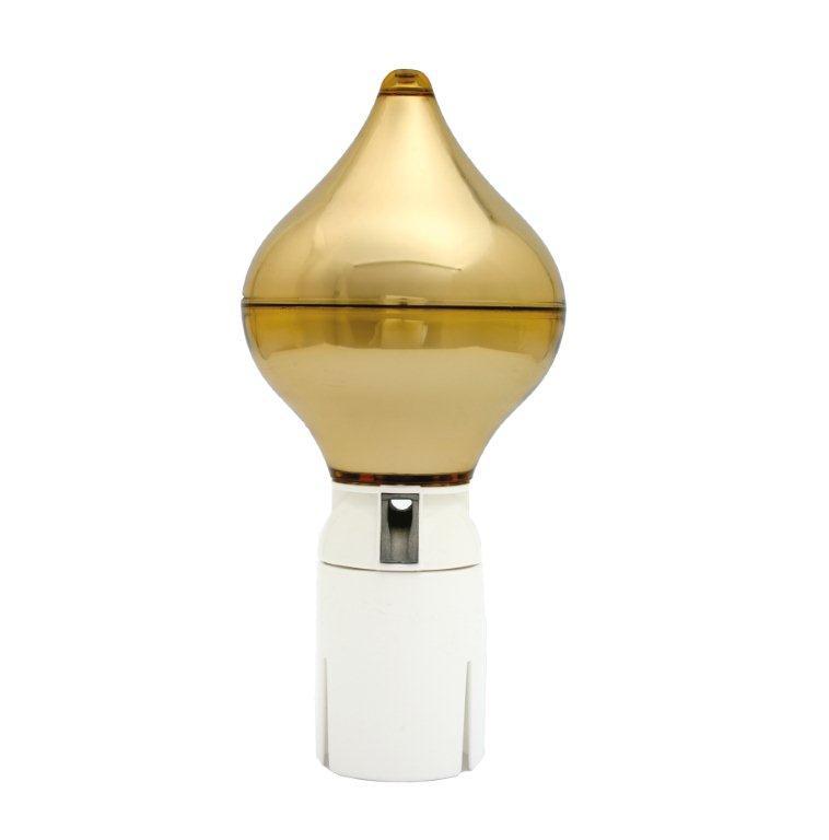 Vlaggenmastknop goud peervorm
