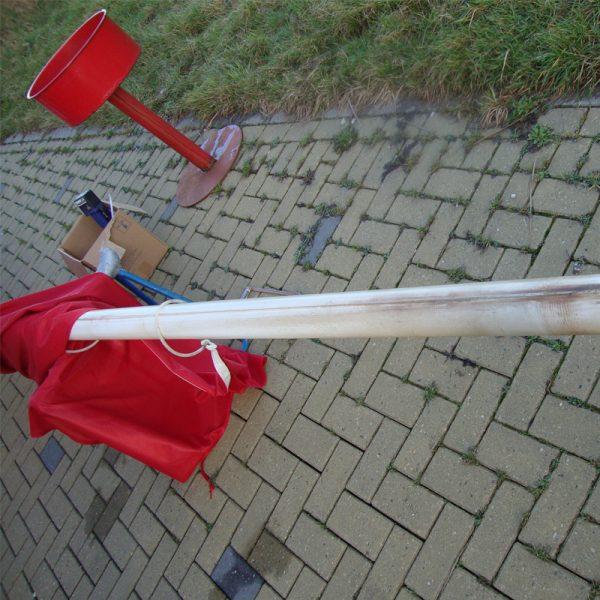 Onderhoud Vlaggenmast