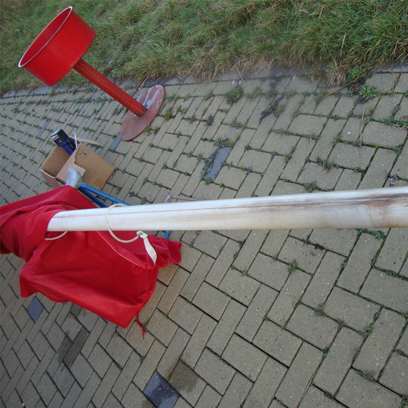 Onderhoud & reparatie vlaggenmasten