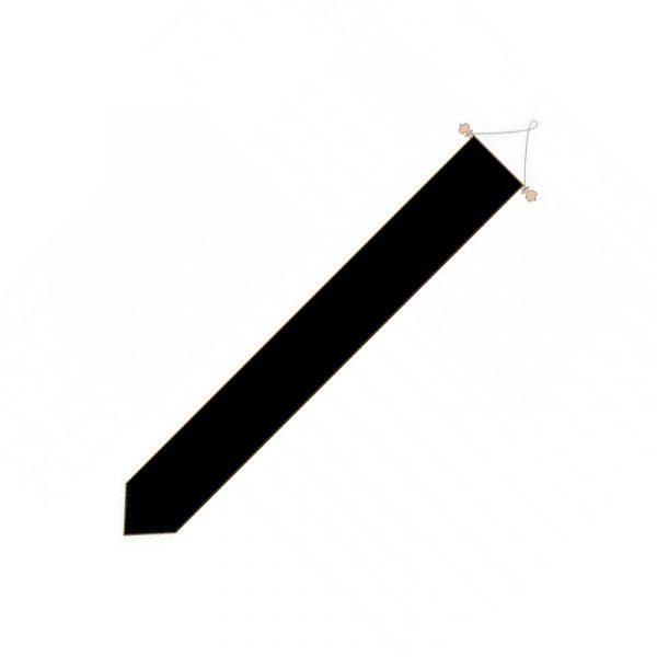 Rouwwimpel Zwarte Wimpel