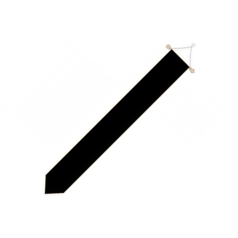 Zwarte rouwwimpel