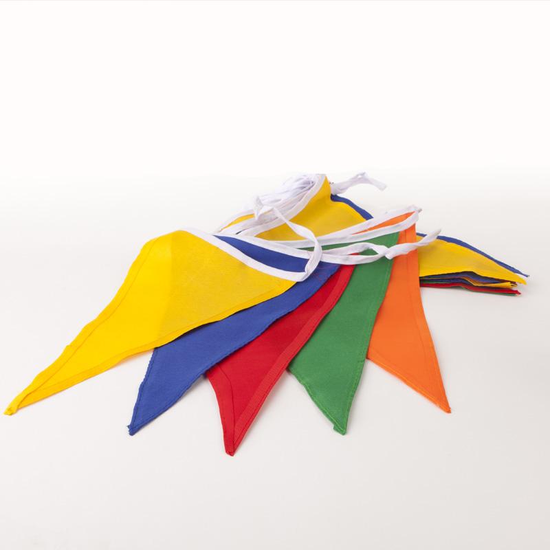 Vlaggenlijn fantasy / multi colour - katoen
