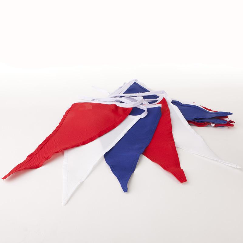 Vlaggenlijn Rood-Wit-Blauw - katoen