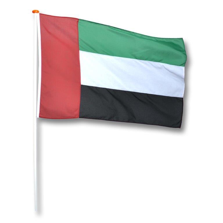 Vlag Verenigde Arabische Emiraten